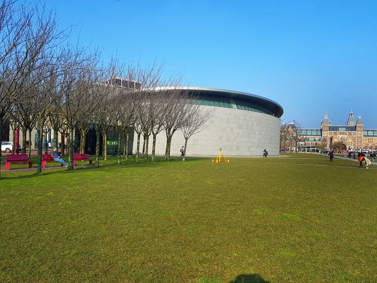 Van Goghmuseum Museumplein