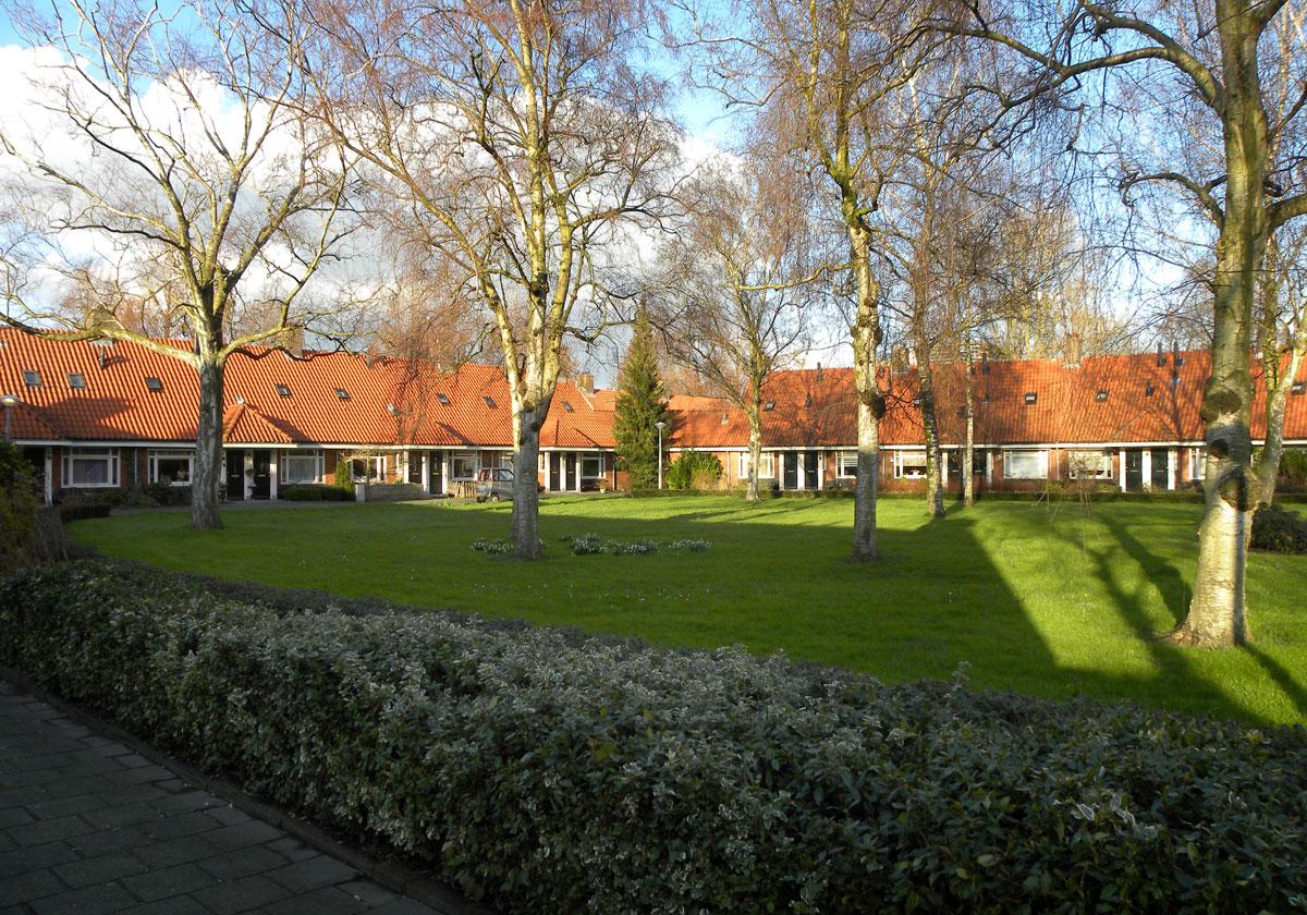 Sociale woningbouw route