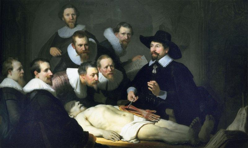 Anatomische Lektion von Dr. Tulp