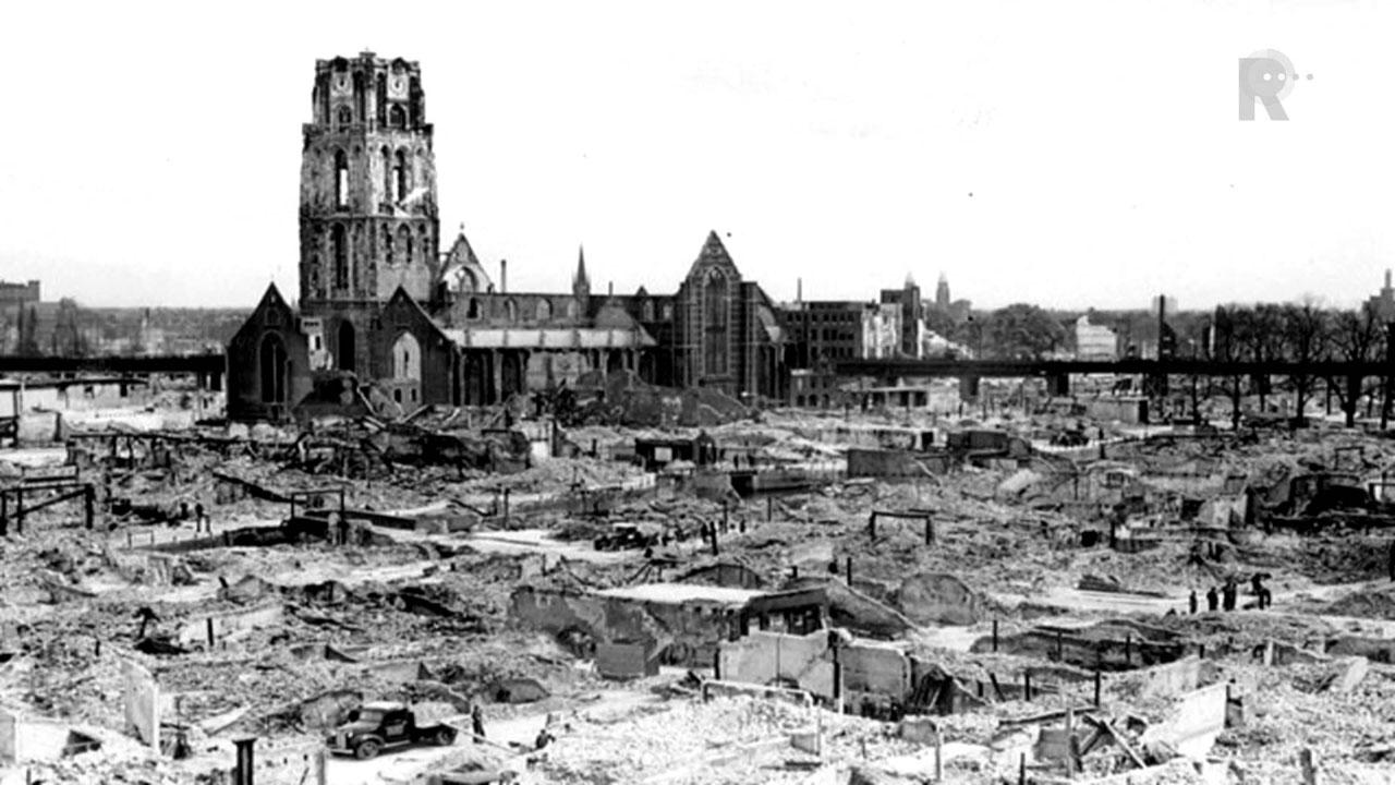 Na het bombardement