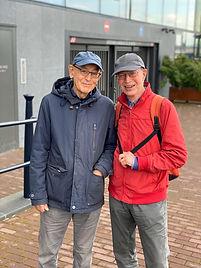Ruud van Soest en Bert Franssen (r)