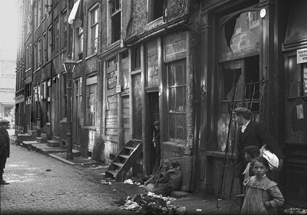 Slum jüdisches Viertel