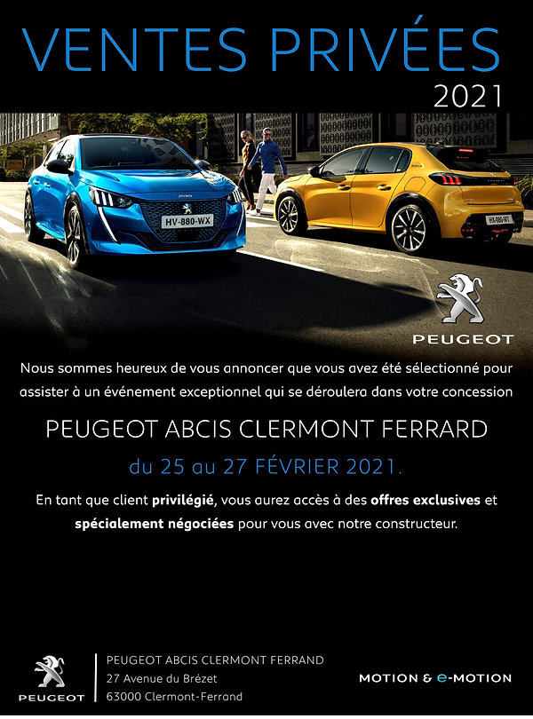 Campage mail Peugeot Clermont Ferrand  L