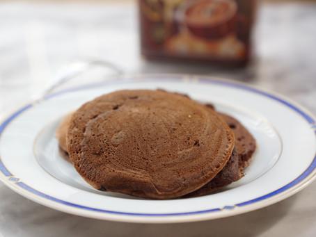 Pancakes chocolatés à la ricotta