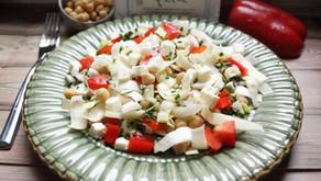 Salade de pois chiches à la fêta