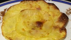 Rosace de pommes de terre
