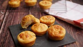 Muffins bacon/parmesan