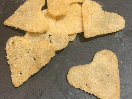 Coeurs au parmesan