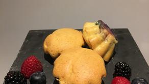 Cakes légers aux fruits rouges