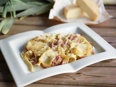 One pot pasta façon flamiche