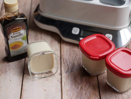 Yaourts au lait de vache 1/2 écrémé arôme vanille