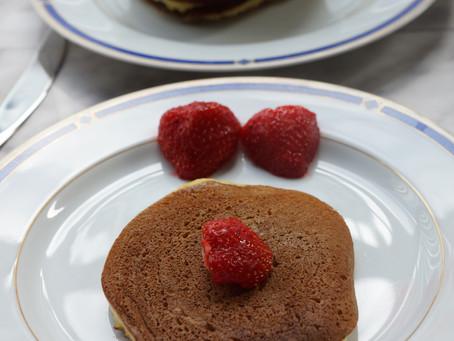 Pancakes citronnés à la ricotta