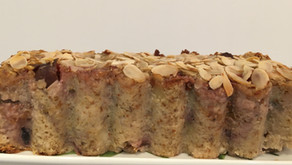 Recette sélectionnée par le Chef Simon du journal Le Monde - cake figues/flocons d'avoine/amande