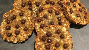 """Cookies """"healthy"""" aux perles de chocolat"""