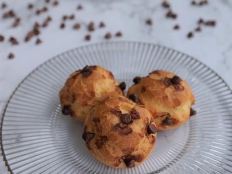 Chouquettes aux pépites de chocolat avec pâte à choux de Christophe Michalak