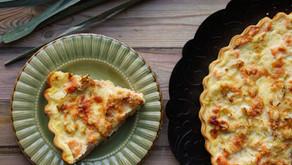 Tarte poireaux/saumon