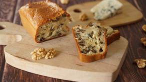 Cake noix/roquefort