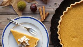 Pumpkin pie allégée - tarte au potiron sucrée