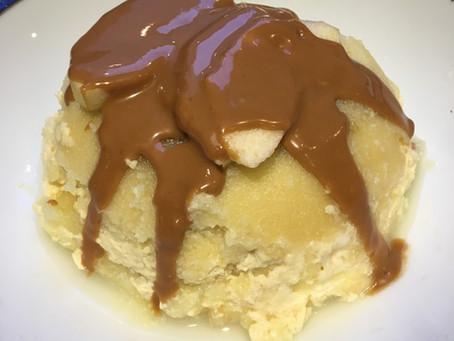 Bowlcake semoule pomme/pâte à tartiner au speculoos