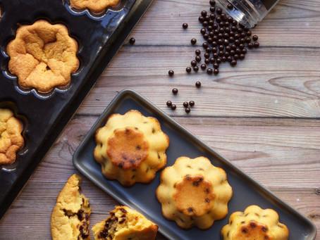 Moelleux potiron/pépites de chocolat