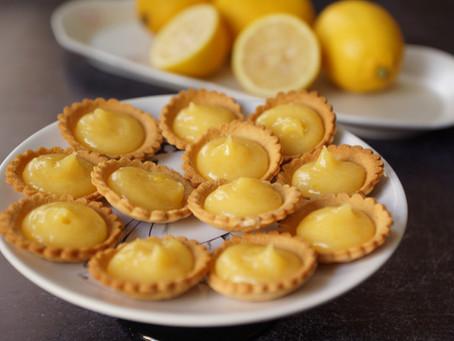 Mini-tartelettes au citron