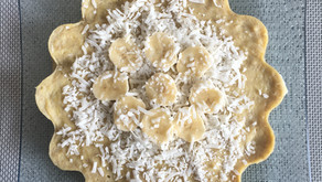 Gâteau rapide banane/coco