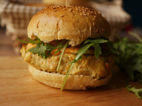 Chicken burger healthy de Thibault Geoffrey