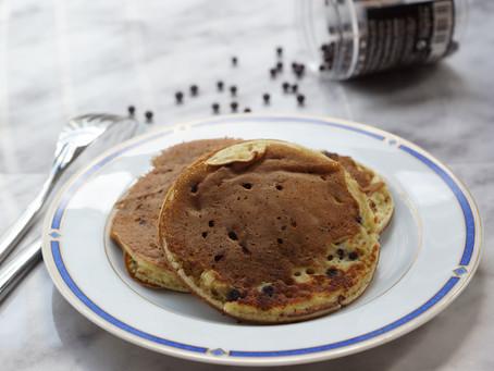 Pancakes aux pépites de chocolat et ricotta