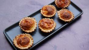 Mini-quiches mozza/parmesan