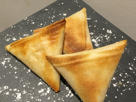 Triangles aux pommes