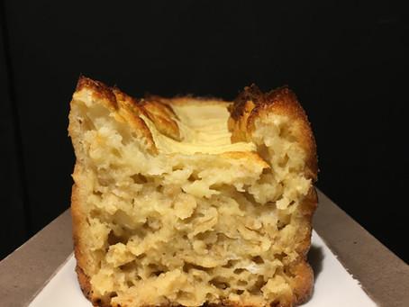 Cake au yaourt et flocons d'avoine