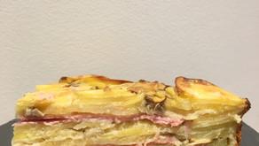 Invisible pommes de terre/champignons/jambon