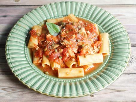 One pot pasta thon à l'italienne