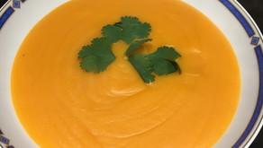 Velouté de lentilles corail aux carottes