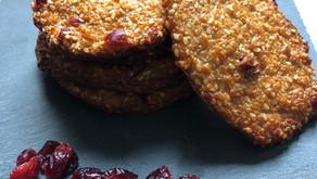 Biscuits au quinoa et cranberries