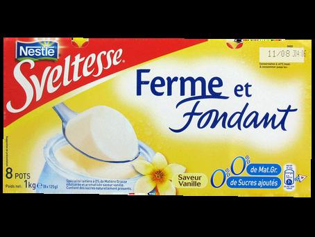 Sveltesse ferme et fondant vanille