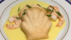 Mousses de saumon - sauce hollandaise allégée