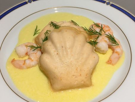 Mousses de saumon - sauce hollandaise allégée