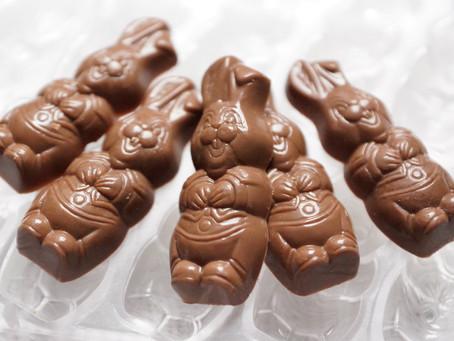 Friture de Pâques en chocolat à réaliser soi-même