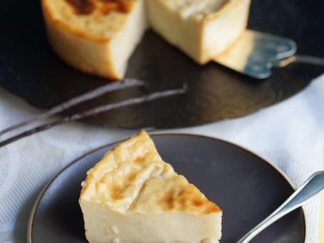 Flan à la vanille sans pâte