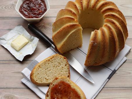 Brioche au fromage blanc et à la vanille
