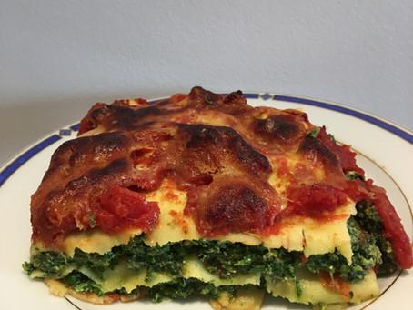 Lasagnes épinards/ricotta