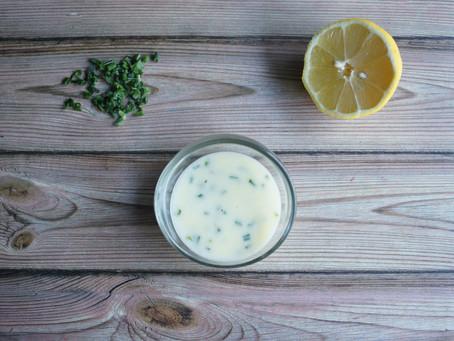 Sauce beurre citron allégée