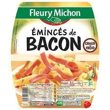 Emincés de bacon