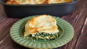 Lasagnes épinards/saumon/ricotta