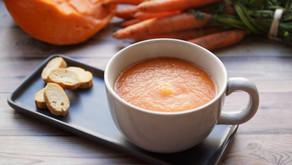 Velouté de potiron à la carotte