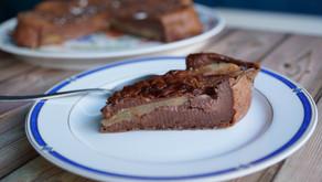 Clafoutis poires/chocolat