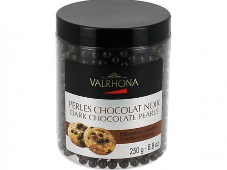 Les perles de chocolat de Valrhona