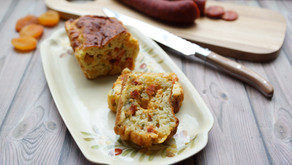 Cake au chorizo et abricots