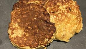 Pancakes banane/flocons d'avoine